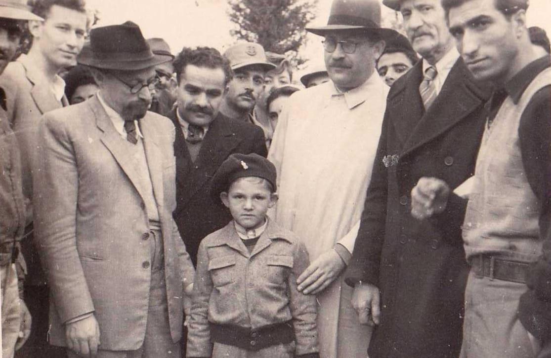 עליה לקברו של יאיר 1949