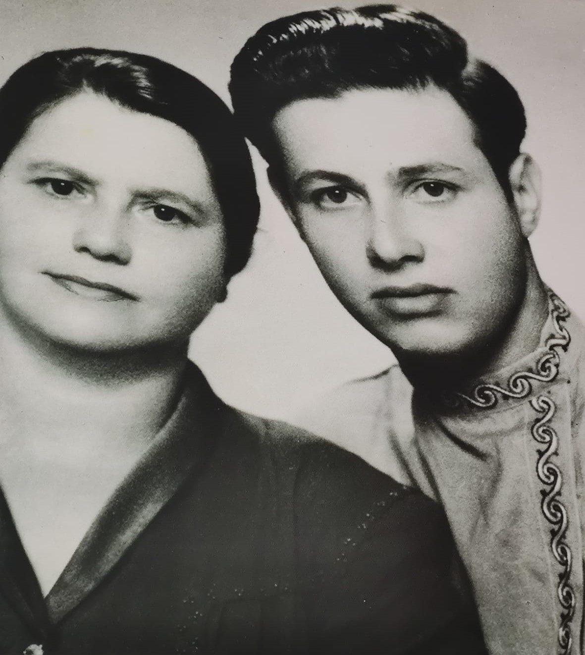 """דוד גרשון ורעייתו רזיה, חברת לח""""י"""