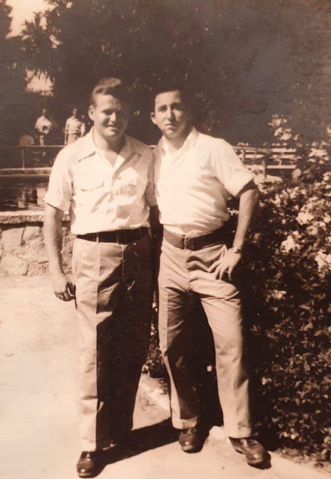 מימין אורי וינדמן משמאל אברהם לרנר