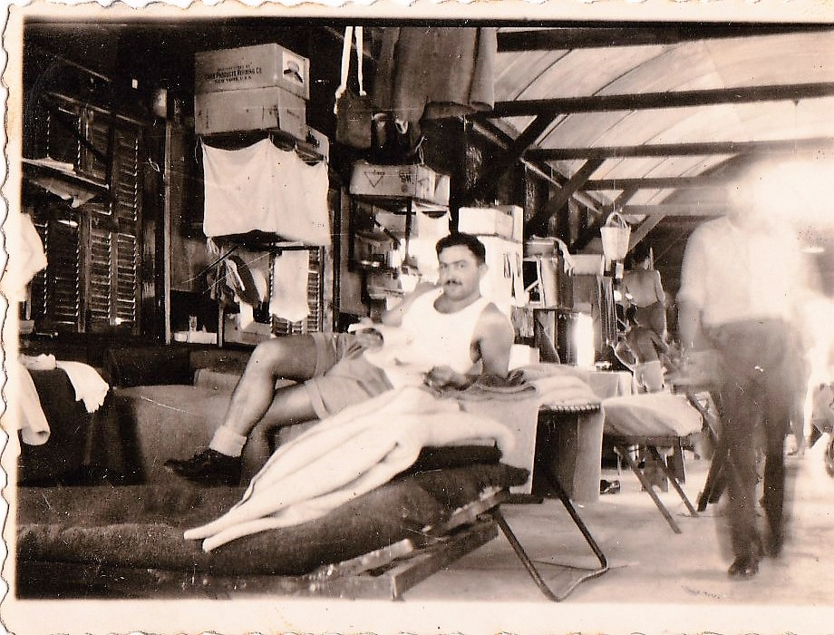 יחזקאל ויטנברג במחנה לטרון