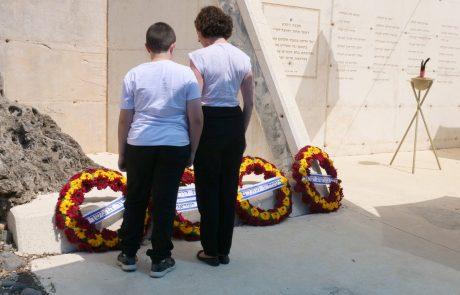 תמונות מטקס יום הזכרון לחללי לח״י, חללי צה״ל ונפגעי פעולות האיבה