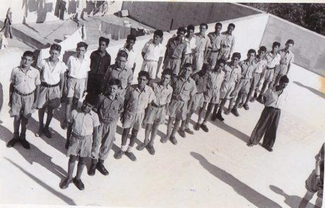הם עמדו שם שורות שורות… – מחנה רמת יאיר