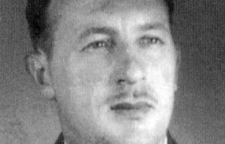 """בצער רב אנו מודיעים על מותו של חבר לח""""י גרשון הורוביץ – """" ג'רי"""""""